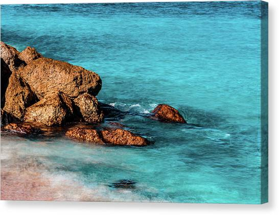 Peaceful Beach Canvas Print