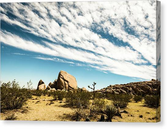 Peaceful Boulder Canvas Print