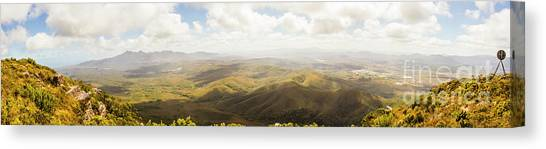Rolling Hills Canvas Print - Peaceful Countryside Panorama by Jorgo Photography - Wall Art Gallery
