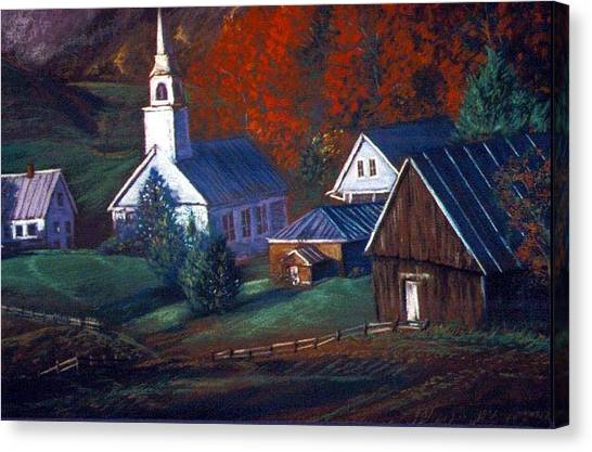Peaceful Dwellings Canvas Print by Tommy  Winn