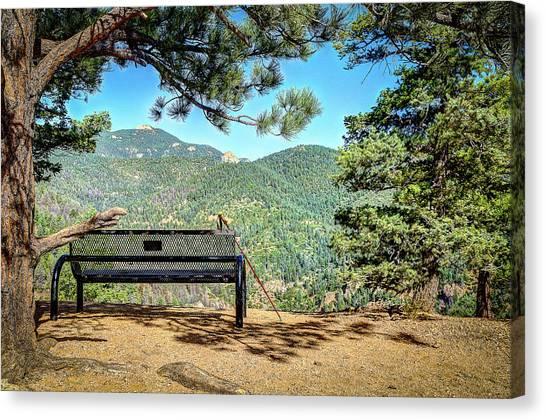 Peaceful Encounter Canvas Print