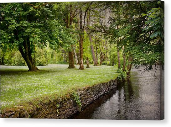 Peaceful Ireland Landscape Canvas Print