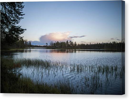 Canvas Print - Peaceful by Jo Jackson