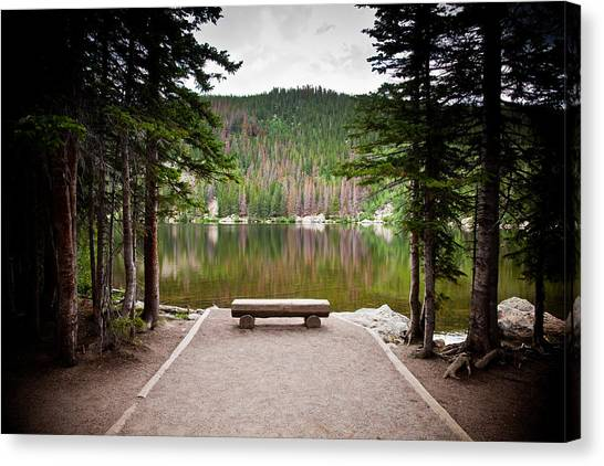 Peaceful Place Canvas Print by Patrick  Flynn