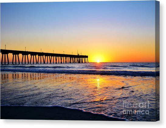 Peaceful Sunrise Canvas Print