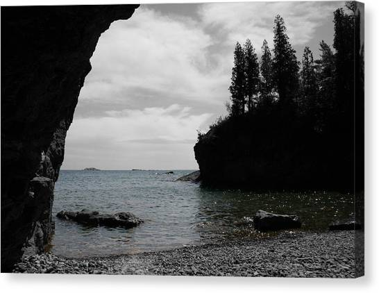 Canvas Print featuring the photograph Peaceful Waters by Dylan Punke