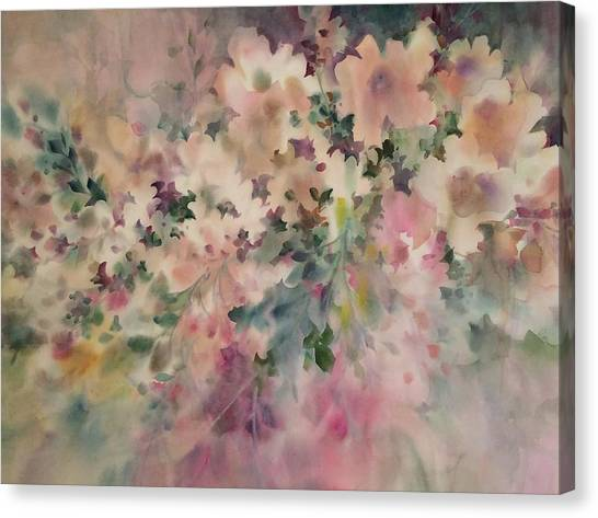 Peach Parfait Canvas Print