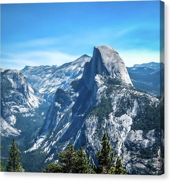 Peak Of Half Dome- Canvas Print