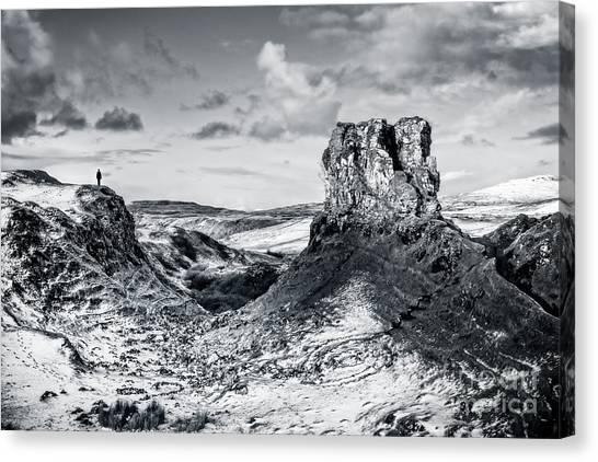 Fairy Glen Canvas Print - Peak Of Imagination by Evelina Kremsdorf