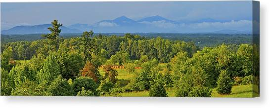 Peaks Of Otter After The Rain Canvas Print