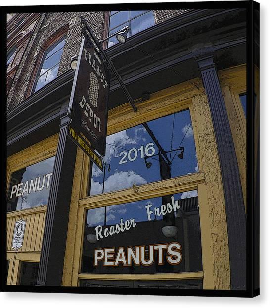 Peanut Depot Poster Canvas Print