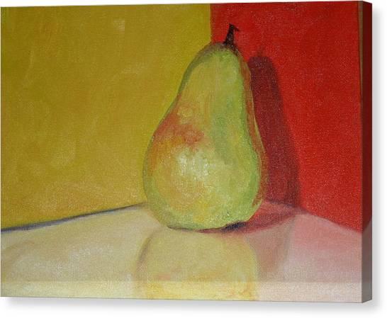 Pear Study Canvas Print by Martha Layton Smith
