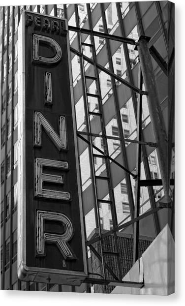 Pearl Diner Canvas Print