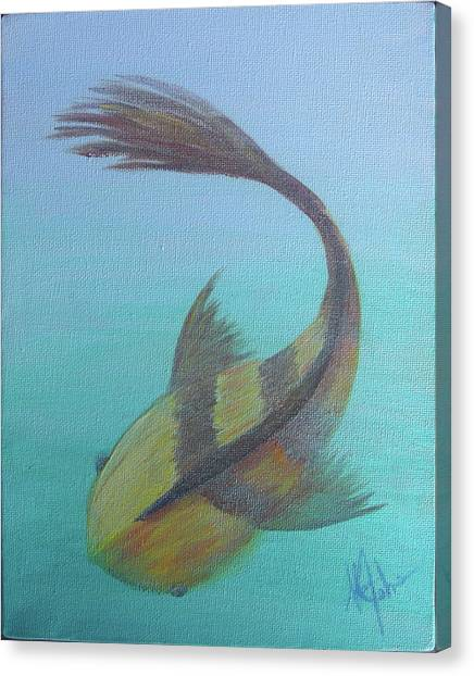 Pearly Fishy Canvas Print