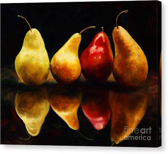 Mangos Canvas Print - Pearsfect by Laurie Hein