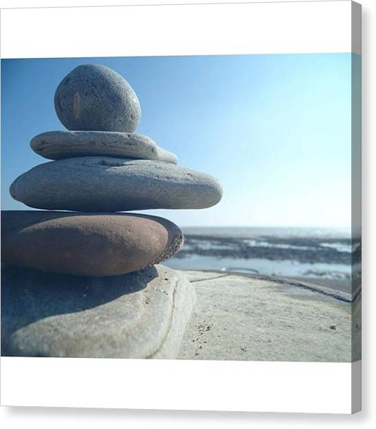 Finches Canvas Print - #pebblebeach #pebbles #pictoftheday by Gary Finch