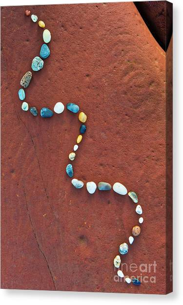 Ore Canvas Print - Pebbled by Tim Gainey