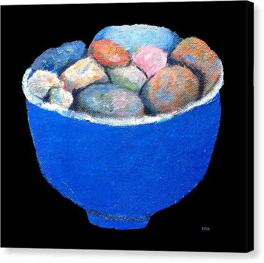 Pebbles Memories Canvas Print