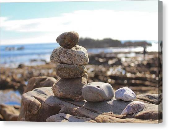 Peceful Zen Rocks Canvas Print