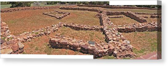 Pecos National Monument - 3 Canvas Print by Randy Muir
