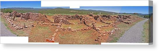 Pecos National Monument - 4 Canvas Print by Randy Muir