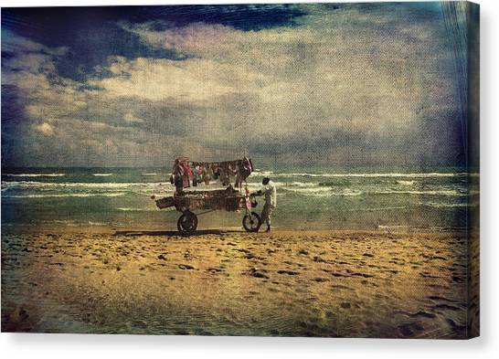Peddler Canvas Print