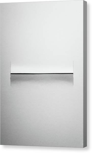 Symmetrical Canvas Print - Peeling Back The Layers by Scott Norris