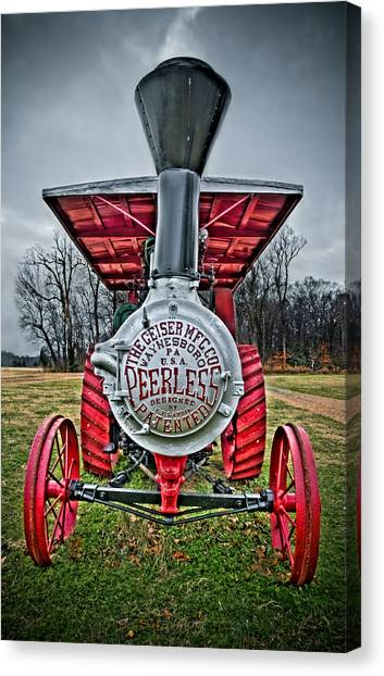 Canvas Print featuring the photograph Peerless by Williams-Cairns Photography LLC