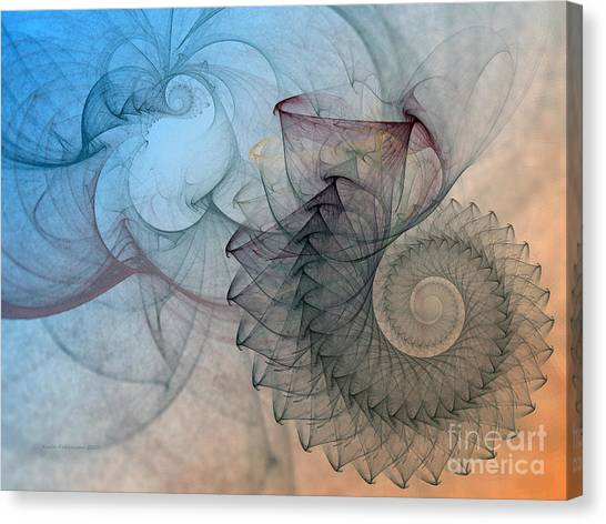 Pefect Spiral Canvas Print
