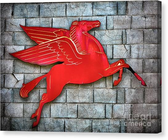 Pegasus Canvas Print - Pegasus by Olivier Le Queinec