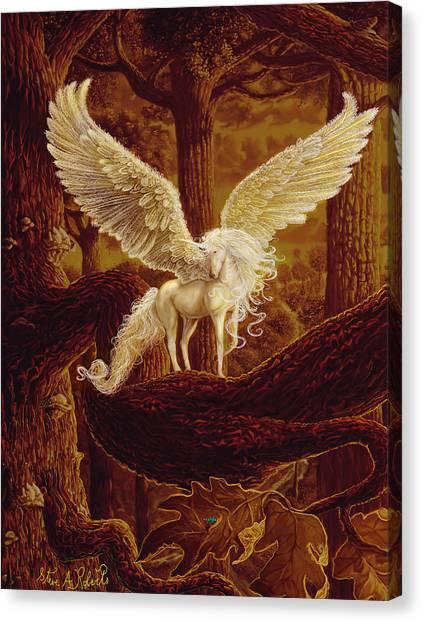 Pegasus Canvas Print - Pegasus by Steve Roberts