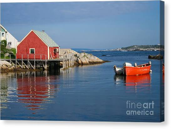Peggys Cove Canvas Print