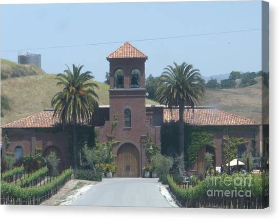 Peitre Santa Winery Canvas Print