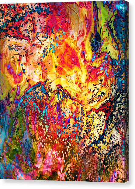 Pele Canvas Print