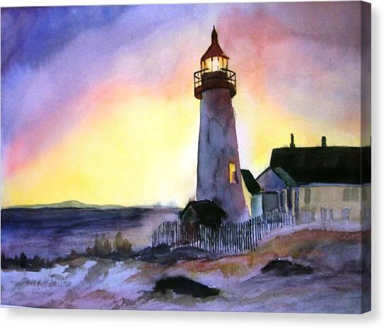 Pemaquid Point Lighthouse Maine Canvas Print