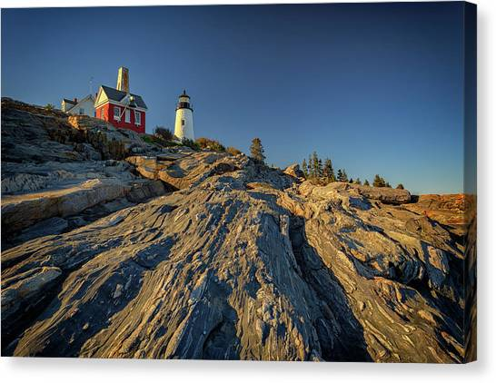 Pemaquid Point Canvas Print - Pemaquid Point by Rick Berk