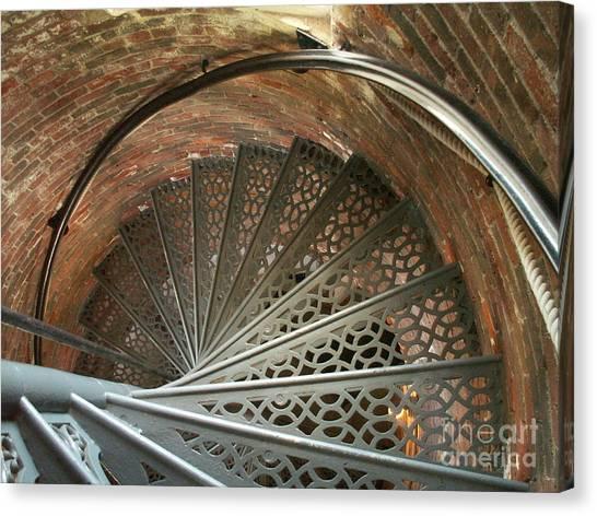 Pemaquid Spiral Canvas Print