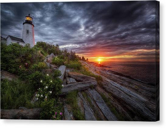 Pemaquid Sunrise Canvas Print