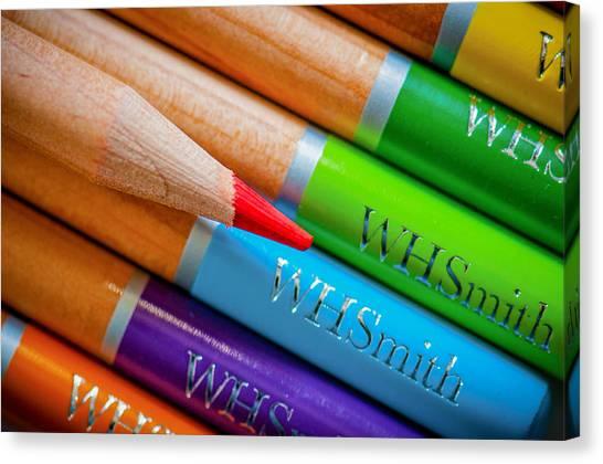 Pencils 3 Canvas Print