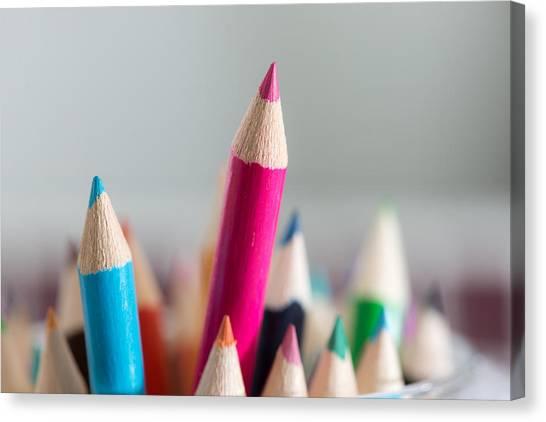 Pencils 4 Canvas Print