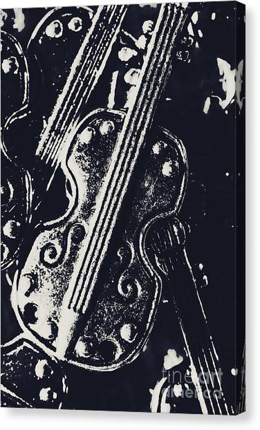 Cellos Canvas Print - Pendanting A Classical Song by Jorgo Photography - Wall Art Gallery
