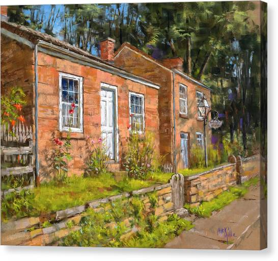 Pendarvis House Canvas Print