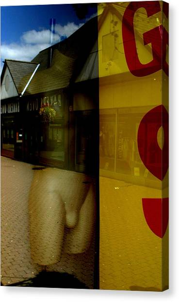 Penis In The Wild Canvas Print by Jez C Self