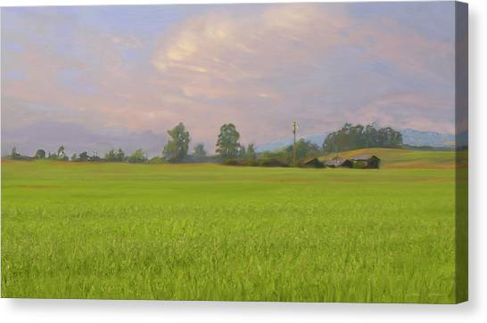Penngrove Field Canvas Print by Thomas  Hansen
