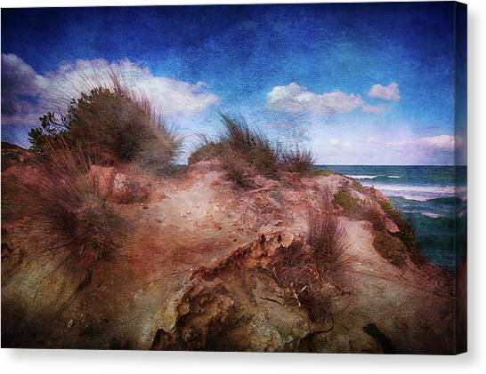 Pennington Bay Canvas Print - Pennington Bay by Anne Christie