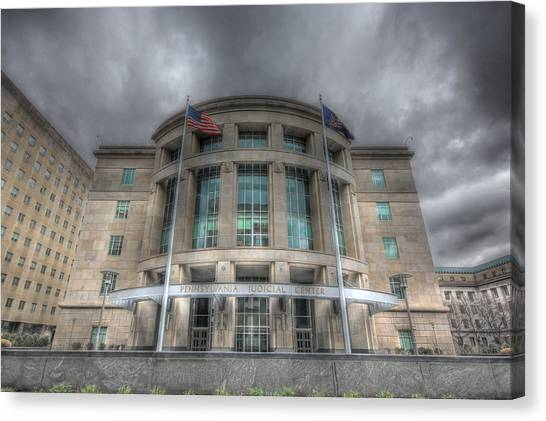 Pennsylvania Judicial Center Canvas Print
