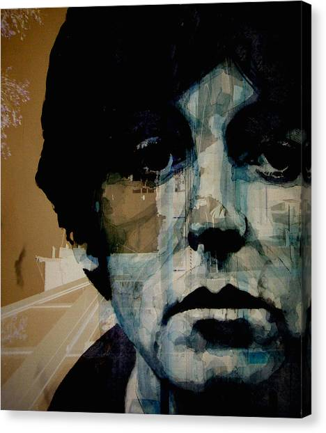 Paul Mccartney Canvas Print - Penny Lane by Paul Lovering