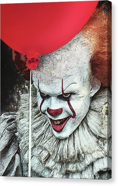 Pennywise Canvas Print