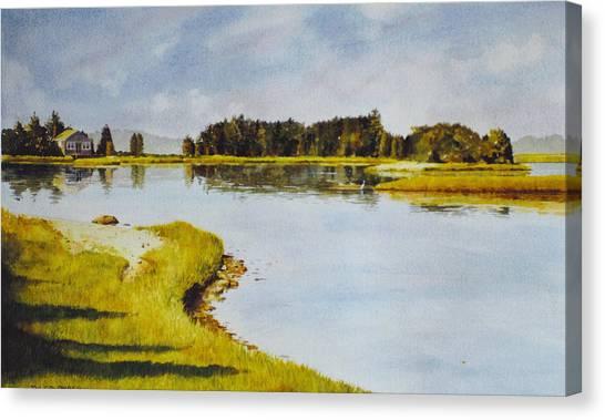 Petomska Inlet Canvas Print