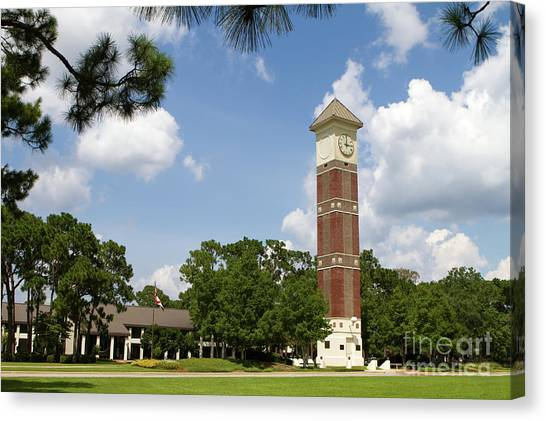 Junior College Canvas Print - Pensacola State College by Steven Frame